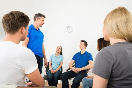 групповые занятия зависимых от алкоголя