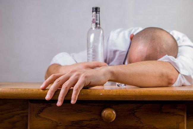 тяжелое опьянение